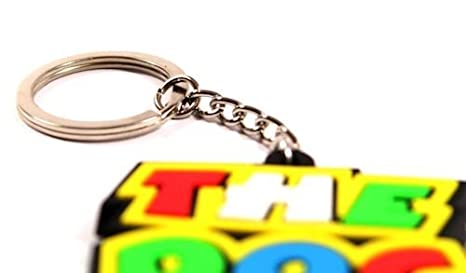 Amazon.com: Rossi 46 The Doctor clave Cadena Anillo Llavero ...