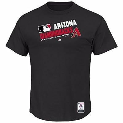 MLB Men's Big and Tall Authentic Collection Team Choice T-Shirt (3XL, Arizona Diamondbacks)