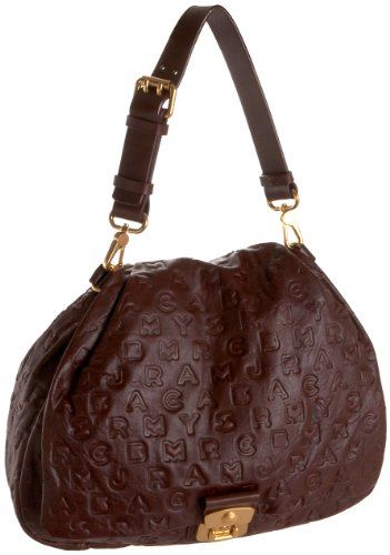 Marc by Marc Jacobs Dream Lil G.G. Hobo,Hot Chocolate,one size