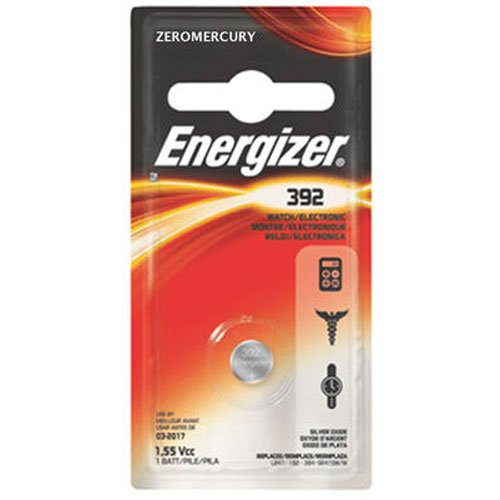 Energizer 392BPZ Zero Mercury Battery - 1 Pack
