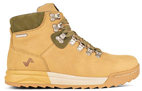 Forsake Patch - Women's Waterproof Premium Leather Hiking Boot (8.5 M US, Sand/Cypress) ()