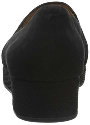 Ecco Cleveland - Mocassins Pour Femmes, Noir (black02001), 38 Eu