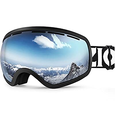 Zionor Lagopus Ski Snowboard Goggles UV Protection Anti-fog Snow Goggles Men Women Youth