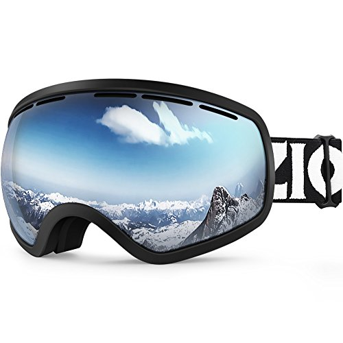 ZIONOR Lagopus Ski Snowboard Goggles UV Protection Anti-fog Snow Goggles for Men Women Youth – DiZiSports Store