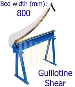 """Guillotine Shear 32"""" x 16 Gauge Sheet Metal Fabrication Plate Cutting Cutter"""