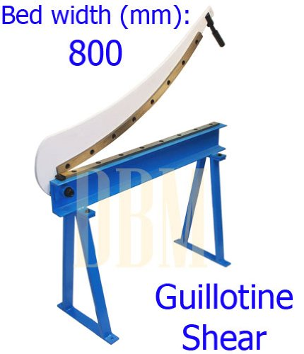 """Guillotine Shear 32"""" x 16 Gauge Sheet Metal Fabrication P..."""
