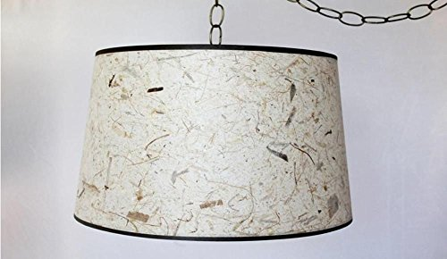 Natural Fiber Pendant Light - 1