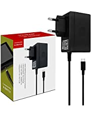 Adaptateur Secteur pour Switch / Switch Lite Support le Mode TV Charge Rapide USB Type C Chargeur pour Nintendo Switch / Switch Lite