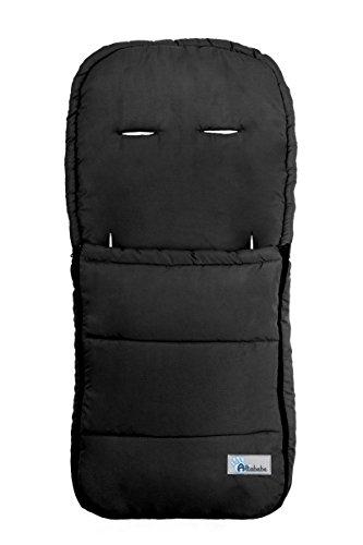 Altabebe AL2200-02 - Saco de verano para cochecito, color negro