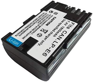 LP-E6 Cargador de batería EOS 5D Mark II III y IV, 70D, 5Ds, 6D ...