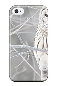 New Arrival Cover Case With Nice Design For Iphone 4/4s- White Owl
