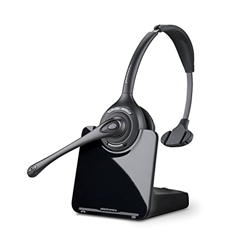 Over-the-Head monaural Wireless Headset System – DECT 6.0 ()