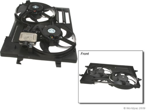 (OES Genuine Auxiliary Fan Assembly for select Jaguar X-Type models )