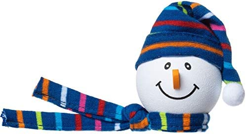 Tenna Tops Snowman Winter Hat & Scarf Car Antenna TopperMirror DanglerDesktop Spring Stand Bobble (Blue) (Fits Thick Fat Style Antenna) / Tenna Tops Snowman Winter Hat & Scarf Car Antenna TopperMirror DanglerDesktop Spring Stand Bo...