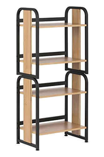 Graphite Bookshelf Rack - 2