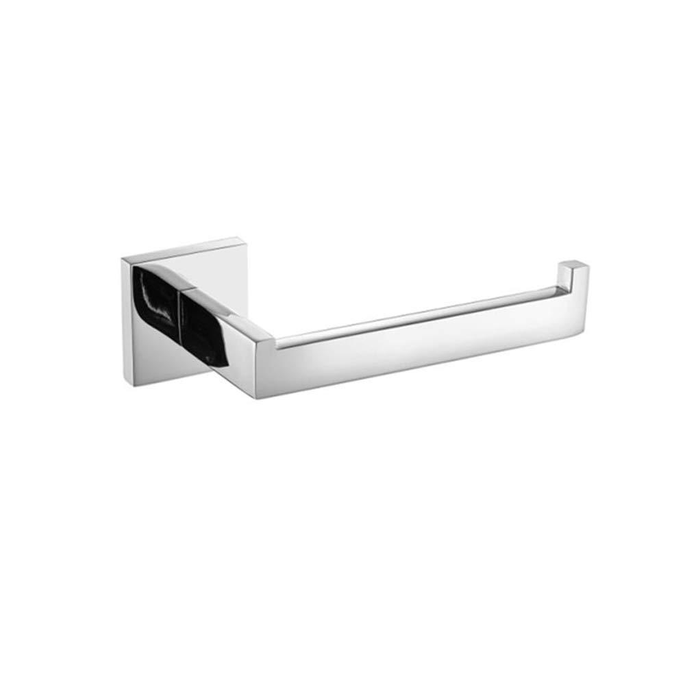 TURS SUS 304 acier inoxydable rouleau de papier toilette antirouille salle de bain tissu support mural, finition polie, K7002P