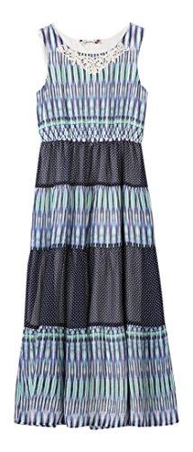 Crochet Trim Tiered Skirt - 9