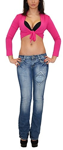 Bootcut Taille Basse Pantalon Jean Jean Designs AA Femme Actuelles Typ Jean tex en j46 by Femme qWxftnFYR