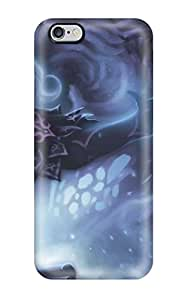 Hot Tpu Cover Case For Iphone/ 6 Plus Case Cover Skin - Drawing Blonde Warrior Monster Magic