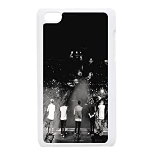 wugdiy DIY Case Cover for iPod Touch 4 with Customized One Direction
