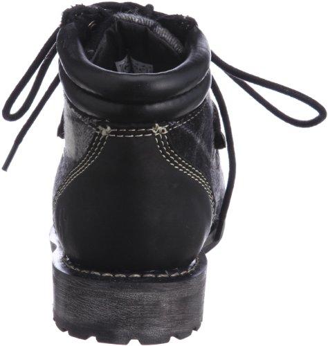 Botines - 4365-tweedu White-Black