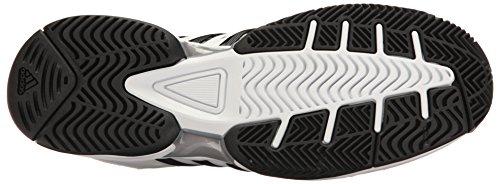 adidas Performance Herren Barricade Classic Wide 4E Tennisschuh Weiß / Core Black / Mid Grey