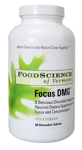 Amazoncom Food Science Of Vermont Focus Dmg Chewable Tablets