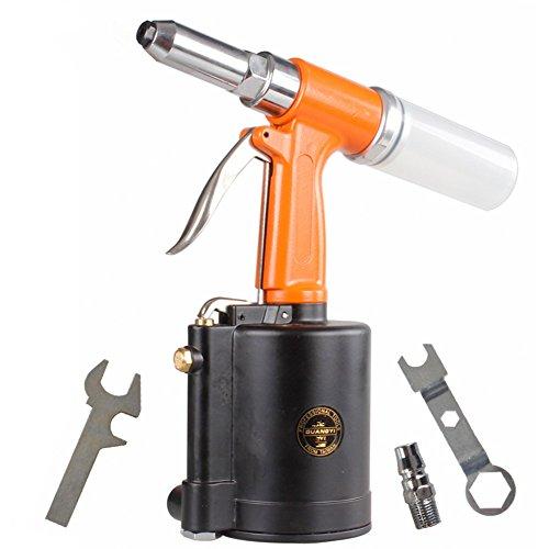 BORNTUN Air Rivet Gun 1/4 Inch Rivet Gun Heavy Duty Pneumatic Hydraulic Rivet Tool (1/4'') by BORNTUN (Image #1)