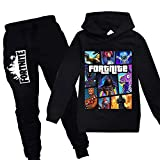 Youth Fashion Pullover Hoodie and Sweatpants Suit