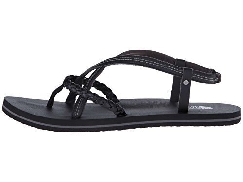 The North Face Womens gladi Round Toe Casual Strappy Sandals, Black, Size - Faces Round