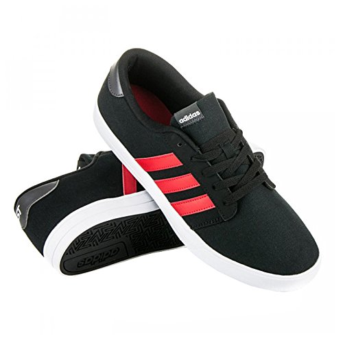 adidas VS SKATE - Zapatillas skate para Hombre, Negro - (NEGBAS/ESCARL/GRPUDG) 46 2/3