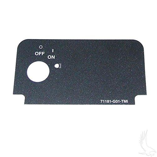 RHOX EZGO Medalist/TXT Golf Cart Decal For Key Switch w/On & Lights