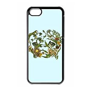 iPhone 5c Phone Case Covers Black Botanical Pug VCM How To Make Your Own Phone Case