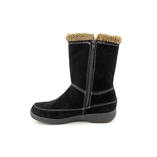 Easy Spirit Warm Feet Damen Schwarz Rund Winterstiefel Neu/Display EU 38,5
