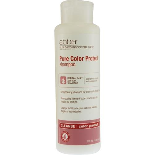 ABBA by ABBA Pure & Natural Hair Care COLOR PROTECTION SHAMPOO 8.45 OZ (FORMERLY PURE COLOR PROTECT