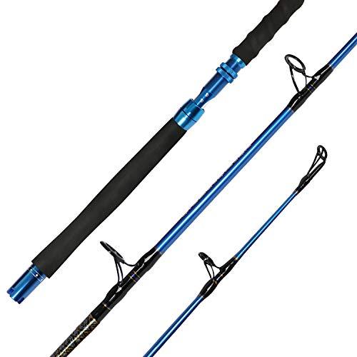 Fiblink Graphite Ice Fishing Rod Pole Gear...