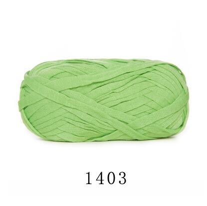 (Knitting Yarn - About 70M Flat Woolen Yarn DIY Knitting Wool for Rug Woven Thread Cotton Cloth Hand Crocheted Basket Rug Blanket Bag Basket)