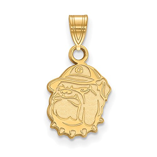 Georgetown Small (1/2 Inch) Pendant (10k Yellow Gold) by LogoArt