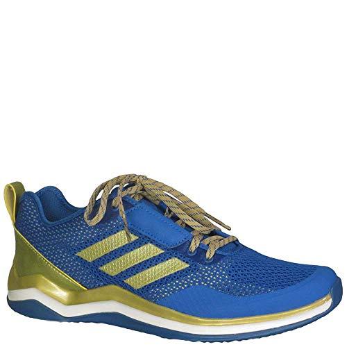 adidas Performance Men's Speed Trainer 3.0, Blue/Metallic Gold/White, 11.5 Medium US