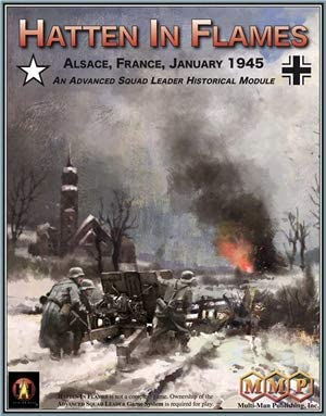 MMP: Hatten in Flames, Alsace, France, January 1945, Historical Module for ASL Advanced Squad Leader Game Series