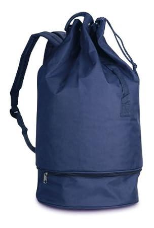Ponza - Mochila tipo saco para gimnasio, barco, piscina, color azul o rojo: Amazon.es: Deportes y aire libre