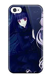 Iphone 4/4s Unknown Print High Quality Tpu Gel Frame Case Cover