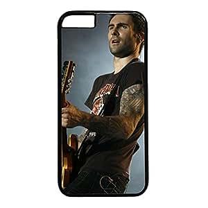 iCustomonline Adam Levine Plastic Black Hard Case Cover for iPhone 6