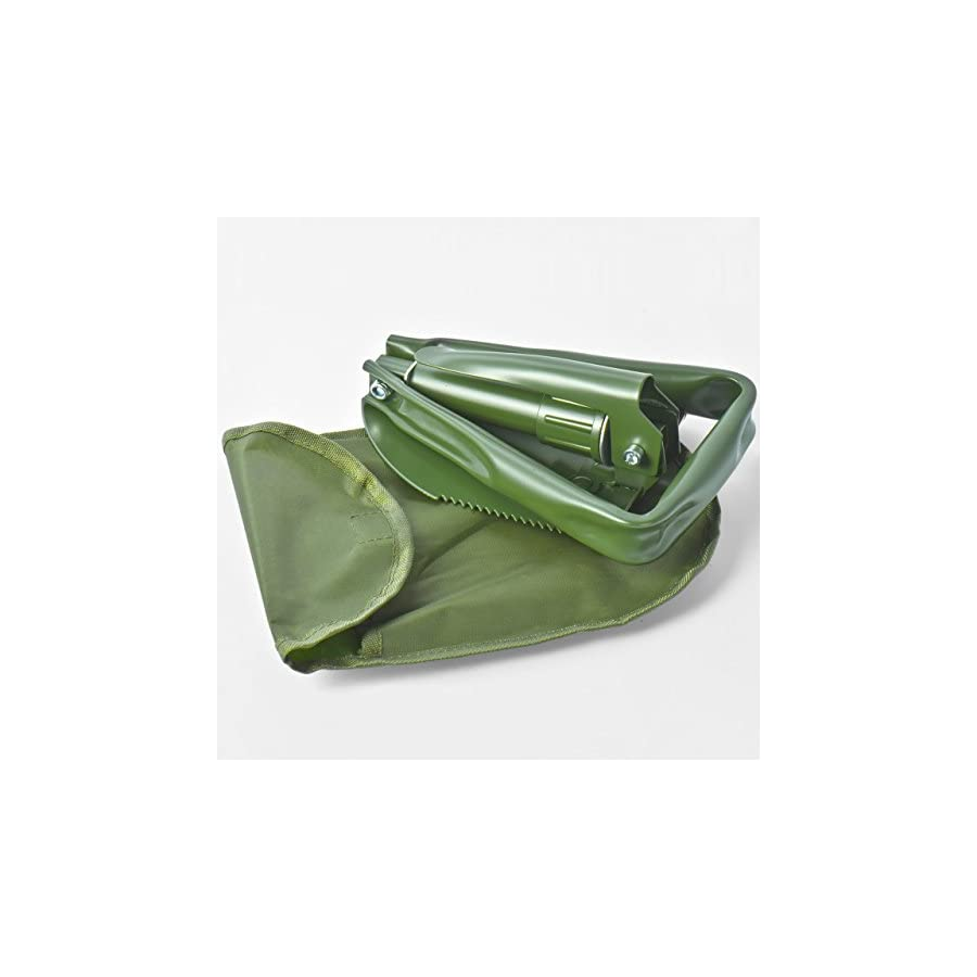 Eyourlife Military Folding Shovel,Entrenching Shovel Folding Spade for Camping Hiking Gardening