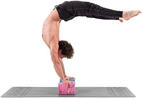 Base yoga Bloque de Yoga - Fuerte/Sólido/Ligero Espuma de Eva Soporte Bloque