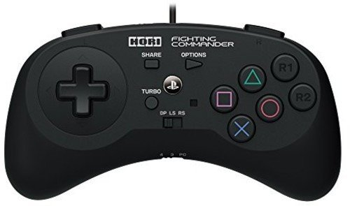 (HORI Fighting Commander for PlayStation 4 & 3 Officially Licensed by Sony - PlayStation 4)