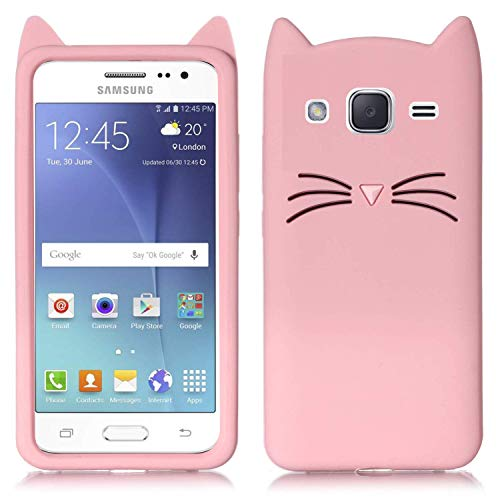 Unirock Back Cover For Samsung Galaxy J7   6  New 2016 Edition    Rubber|Pink
