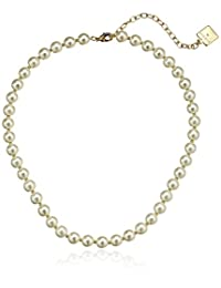 """Anne Klein""""Perfectly Pearl"""" Pearl Collar Necklace, 16"""" + 3"""""""