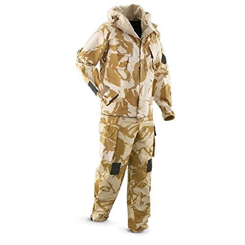 Combinaison de camouflage désert avec veste et pantalon NBC pour la pêche, le tir, la chasse ou le paintball 1