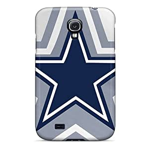 New Premium RitaniaJenkava Dallas Cowboys Skin Cases Covers Excellent Fitted For Galaxy S4